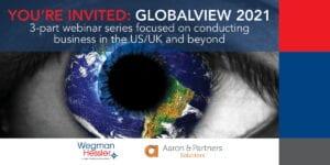 Global Webinar on Thursday, February 25, 2021, Wegman Hessler